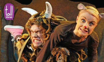 The Gruffalo at the Lyric Theatre, Shaftesbury Avenue